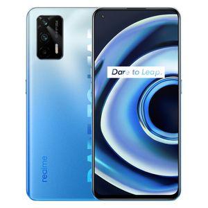 Original Realme Q3 Pro 5G Mobile Phone 8GB RAM 128GB 256GB ROM MTK Dimensity 1100 64.0MP AI Android 6.43 inch AMOLED Full Screen Fingerprint ID Face Smart Cellphone