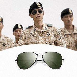 Diseñador Gafas de sol Hombres Mujeres Eyeeglasses Sombras al aire libre PC Marco polarizado UV400 Lady Sun Glasses 117/12 con caja
