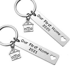 2021 لدينا منزل منزلنا طباعة جديد المنزل rvs شماعات المفاتيح المجوهرات السم