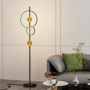 Floor Lamps Lamp Simple Modern Nordic Sofa Next To Creative Bedroom INS Wind LED Bedside 2021