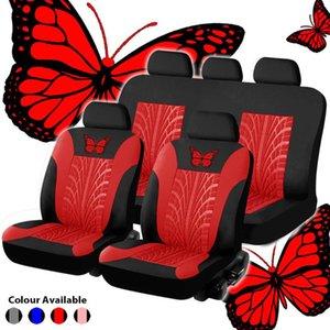 Car Seat Cover Butterfly Auto Beauty Decoration Covers For Sunny Maxim Primera P12 Micra Almera
