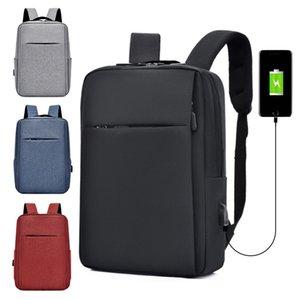 Slim Ordinateur portable Cas de protection USB Rechargeable Cadeau Multi-fonction Sac à dos Ordinateur Sac à dos haute capacité