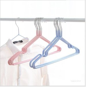 Home Metal Hanger Windproof Anti-skid Clothes Hanging Waterproof Clothes Rack No Trace Clothing Support Thicken Hanger Rack T2I51871