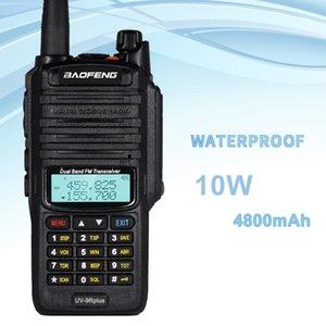 Walkie Talkie UV-9R Plus Baofeng Waterproof IP67 10W 4800mAh Two Way Ham Radio Dual VHF UHF FM Transceiver Long Range Interphone