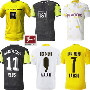 20 21 22 Borussia Dortmund home soccer jersey HAZARD SANCHO HUMMELS BRANDT 2021 2022 yellow football shirt HAALAND REUS BELLINGHAM 4th maillot de foot