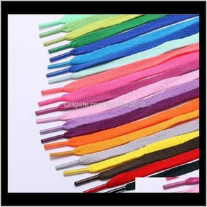 Other Home Textile High Quality Polyester Solid Flat Sneakers Shoelace More Colorful Sports Casual Shoe Lace 80Cm T10C0018 1Nujo Apd4X