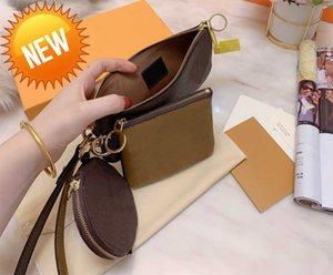 Crossbody bag 3pcs set Clutch Bags Messenger s hands Shopping wallet women With box