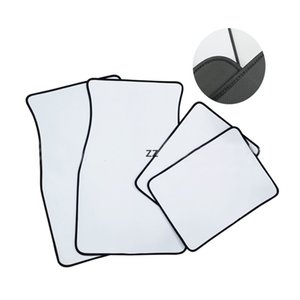 White Sublimation Blanks Carpets Anti Slip Neoprene Car Floor Mat Soft Protector Foot Front Fit Most Auto Cars Accessories HWB10199