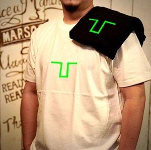 20FW Designer Cross Printed Tee Men Women Summer T Shirt Fashion Crew Neck Short Sleeve Shirts Homme streetwear Clothes