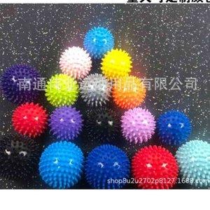 Fidget Toys PVC Yoga Fitness Thorn Ball Juguetes Entrenamiento Masaje Relax Muscle Balls Mujeres Hombres Discomía Rehabilitación Capacitación Suministros H47HAZD