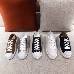 Высочайшее качество мужчины женщин кроссовки повседневная обувь преодолевает кожаные кроссовки полосы обуви ходьбы спортивные тренажеры Scarpe 35-45
