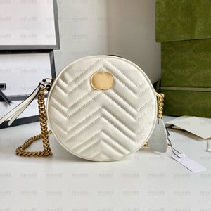 Top quality Women handbags purses Marmont shoulder clutch hobo bags Luxury designer GG genuine leather mini crossbody bag code circular graffiti Handbag tote