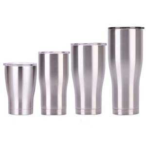 s 20oz 30oz 40oz Double Wall Stainless Steel 12oz Mini Tumbler Vacuum Insulated Straight Cups Flask Beer Coffee Mugs 1E1H GIYT