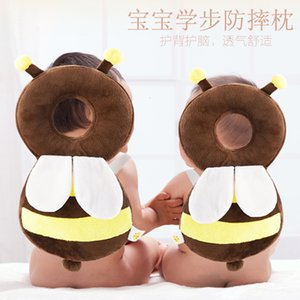 Baby Toddler Fall Proof Pillow Mesh Breathable Headrest