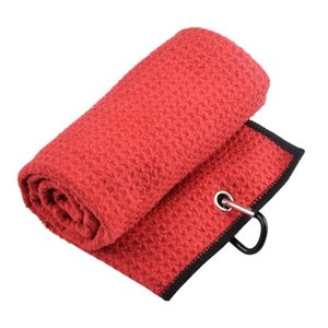 Cycling Caps & Masks Foldable Golf Soft Towel Sweat-Absorbent And Quick-Drying 41*54 Sports Hook