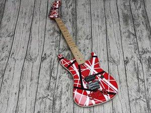 5150 Electric Guitar, Ash Body,Edward Eddie Van Halen Banana Shape Maple Neck