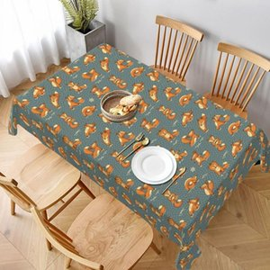 Table Cloth Animal Tablecloth Summer Polyester Cover Square Wholesale Decoration Printed