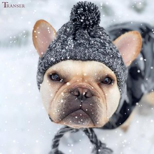 Dog Apparel Transer Products Knitted Pet Hat Cute Beanies Skullies Caps Winter Warm Head Warmers 211
