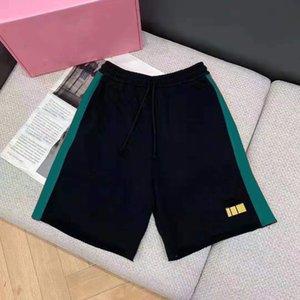 Мужские шорты летние моды пляж короткие брюки унисекс шаблон напечатаны с натянутой натянутой натянутой дорожечной дорожек