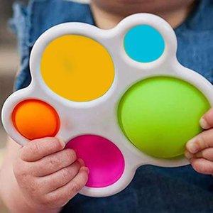 2021 Crianças Crianças Adult Brinquedo Pressão Relisor Board Controlador Cowple Fidget Brinquedos Bebê Decompression Presente