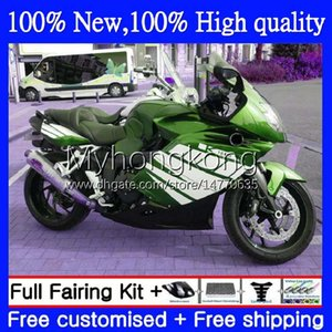 Bodywork +Tank cover For BMW K1200-S K1200 S K1200S 2005 2006 2007 2008 2009 2010 Body 4No.84 K 1200S 05-10 K-1200S K 1200 S 05 06 07 08 09 10 Dark Green Full Fairing Kit