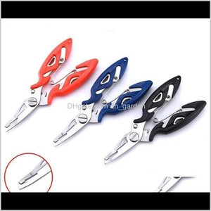Hand Tools Home & Garden Drop Delivery 2021 Plier Scissor Braid Line Lure Cutter Hook Remover Tackle Tool Cutting Fish Use Scissors Fishing P