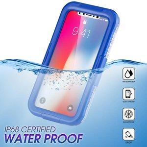 Bolsas de teléfono celular IP68 Funda impermeable para Samsung Galaxy S20 Fe S21ULTRA S20PLUS Natación Buceo al aire libre protector de protección contra el agua