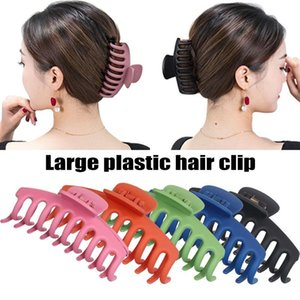 Ly Women's Hair Claw Hairpin Solid Color Barrette Headwear Clip Anti-slip Accessories Clips & Barrettes