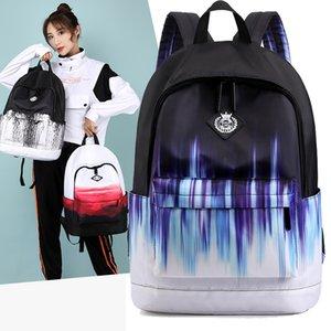 MJZKXQZ Women Boy Nylon Backpack College School Bag For Teenagers Men Girls Laptop Backpack Fashion Lady Travel Book Bags Bolsas 210309