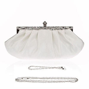 Women Bag Handbag Simple And Easy To Take The Banquet Handbag, Elegant Satin Casual Dinner Little Purses Evening Bags