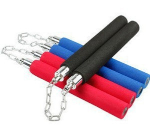 Children's performance dedicated students practice thickened sponge safety nunchaku stage dedicated double