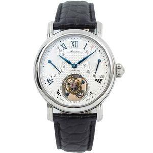 100% Real оригинал Tourbillon роскошные мужчины механические часы календарь неделя сапфировые стекла Mens ST8004 наручные часы наручные часы
