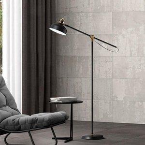 Floor Lamps Vintage Iron Lamp For Living Room Study Loft Bedroom Bedside Decor Light Nordic Home Interior Lighting E27 Standing