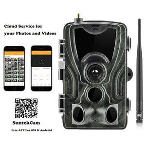 Free APP Trail Camera Cloud Service 4G Wildlife Hunting Surveillance Cellular Mobile 16MP 1080P Wireless Cameras HC801LTE
