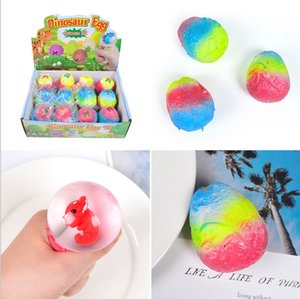 Fidget Toy Anti Stress Dinosaur Egg Novelty Fun Splat Grape Venting Balls Squeeze Stresses Reliever Gags Practical Jokes Toys Funny Gadgets