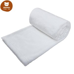 Sublimation Baby Blanket 76*102cm Sublimation Blanks Blanket Soft Warm Blankets Thermal Transfer Rugs Wholesale bt