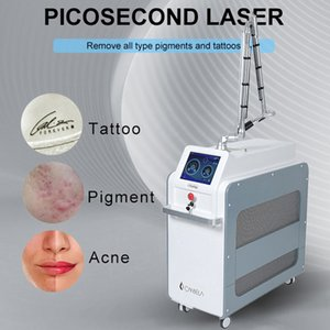 2021 nd yag laser carbon black doll treatment pico second tattoo removal machine 2 years warranty