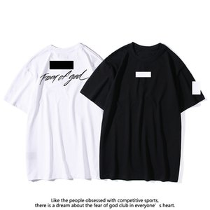 2The three parties signed Mens and womens Tees Polos fashion Short Sleeve Leisure T-shirt trends fear of god fog essentials designer jogger Shorts