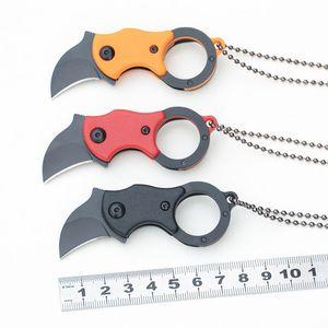 Eagle Claw Messer Mini Fuchsmesser Outdoor EDC Tragbare Werkzeuge Sharp Taschenmesser Länge 8 cm Halskette DHL frei 1NKF