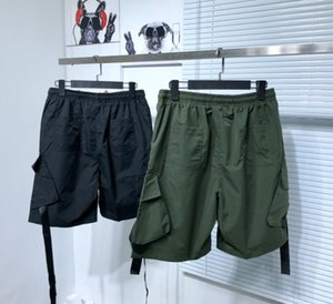 Men Shorts Man Summer Drawstring Pants Geometric Letter Prints Short Trousers High Quality Fashion Hip Hop Style Streetwear Ins Black Colors