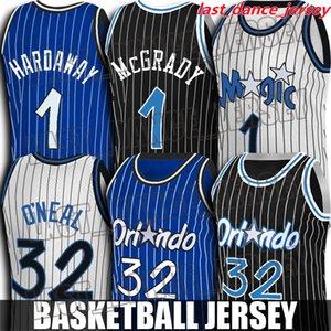 Shaq 32 ONeal Jersey Tracy 1 Mcgrady Jerseys Anfernee Penny Hardaway Jersey Jonathan 1 Isaac Orlando\rMagic\rJerseys