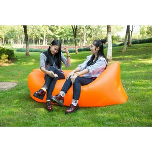 Web celebrity Furniture Outdoor Sofa Shake Sound Inflatable Bed Portable Single Folding Camping Air Cushion DHL FREE