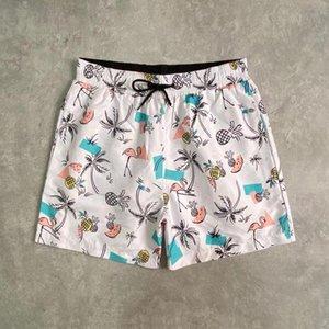 Moda de verão Luxo Swimwear Marca Esporte Beach Shorts Designer calças de desenhista de natação famosa carta de banho impressão para homens homens