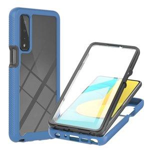 2021 Full Mobile Cover 3 in 1 Phone Cases For LG K52 K22 stylo7 5G