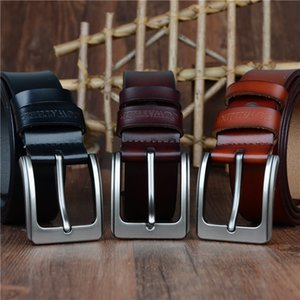 Корован мужской ремень корова натуральные кожи дизайнерские ремни для мужчин Высокое качество моды винтажный мужской ремешок для джинсов кожа корова XF002 201117