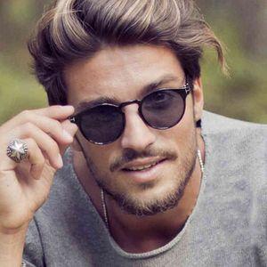 2021 Nuovo Tom Round Sunglasses da uomo Designer pilota Designer retrò retro per le donne Fashion Street Tide Occhiali Unisex oculos de sol 8h0s