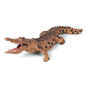 Simulation Crocodile Action Figures Lifelike Education Kids Children Wild Animal Model Toy Gift Cute Ornament Decoration Toys