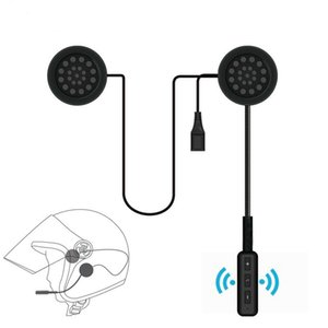 Bluetooth 5.0 Helmet Headset Headphone 3D Stereo Anti-interference For Motorcycle Helmet Riding Hands Free Headphone