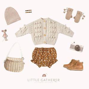 JY Korean Australia Quality Kids Girls Sweaters Cardigans High-end Designer Balls Front Buttons Children Spring Autumn Princess Coat 240 Z2