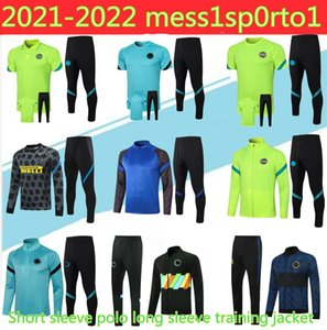 20 21 Kurzarm Polo Langarm Trainingsjacke Fussball Training Anzug Set 2021 Eriksen Vidal